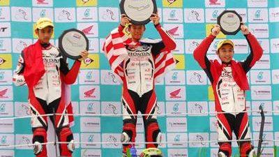 AHM Kirim 4 Pebalap di Asia Road Racing Championship