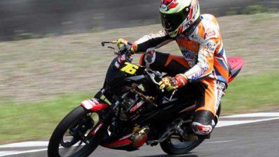 Harlan Fadilah Jawara Kelas Sport 150cc Indospeed Race Series Ke-2
