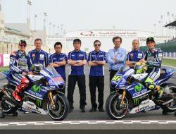 Warna Baru Motor Tim Movistar Yamaha