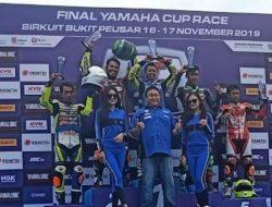 Tim Balap  YROI Batik Yuasa Fertone Mx Top1 RCB Racing Team Raih Juara 2  Di Kelas Aerox 155 Open YCR Tasikmalaya